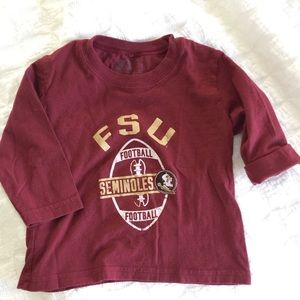 Other - Florida State University Long Sleeve T Shirt 2T
